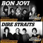 Bon Jovi y Dire Straits al Rock And Roll Hall Of Fame