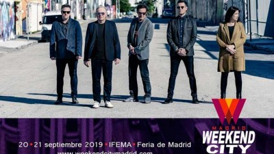 New Order al Weekend City Madrid