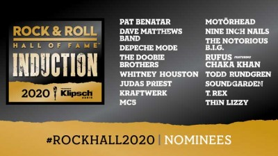 Candidatos al Rock And Roll Hall Of Fame 2020